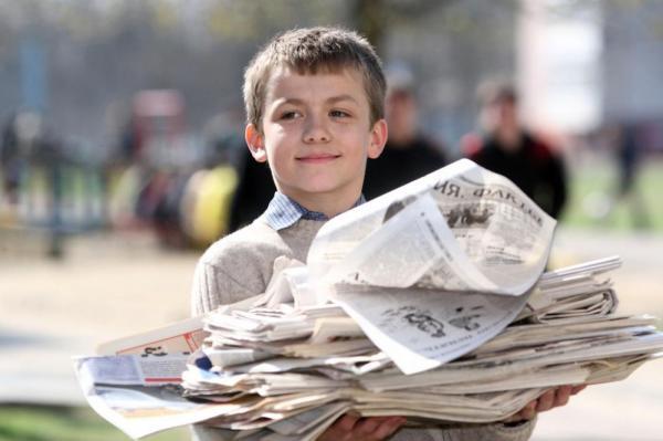 Школьники Москвы и области побили рекорд по собранной макулатуре