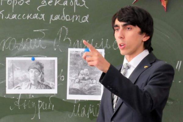 В Санкт-Петербурге лучшему учителю-мужчине вручат один миллион рублей