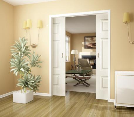 Раздвижные двери – это популярные детали интерьера