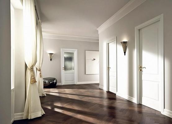 Как использовать белые двери в оформлении интерьера