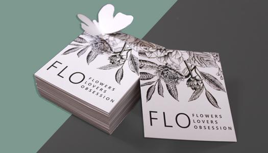 Поздравительная открытка с уникальным дизайном
