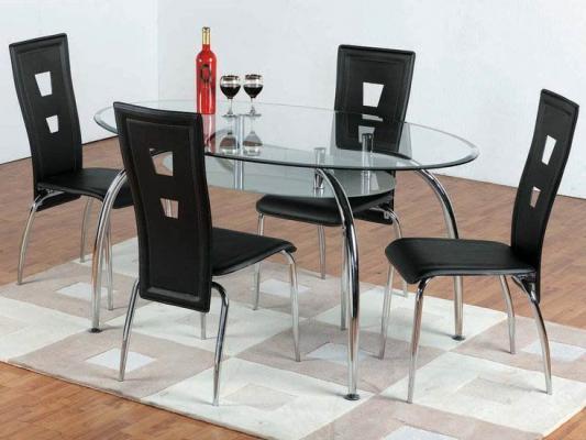Преимущества столов из стекла и дерева
