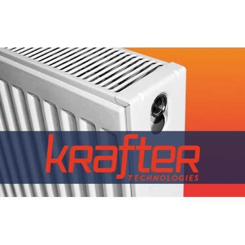 Конструкции и виды стальных радиаторов Krafter
