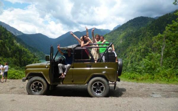 Джип тур в Абхазию