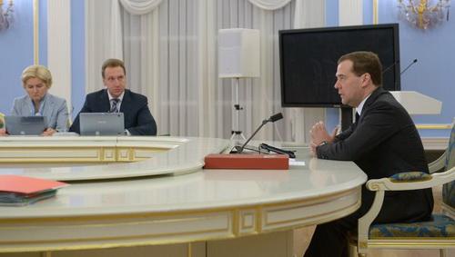 Заседание президентского совета по реализация нацпроектов и демографической политике