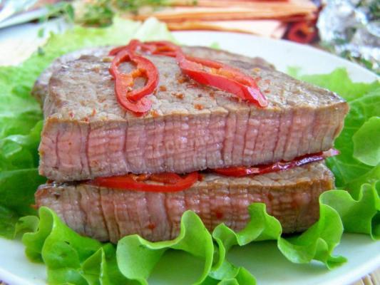 Вкусная мясная продукция. Ассортимент фермерской говядины