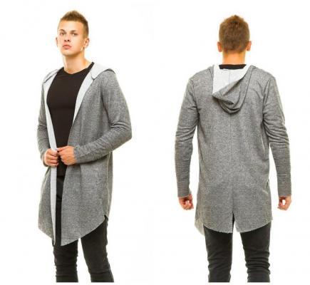 Кардиган - универсальный элемент зимнего мужского гардероба