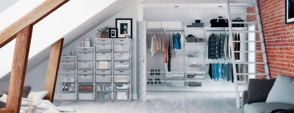 Возможности систем для гардеробных комнат