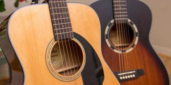 Как выбрать акустическую гитару для начинающих?