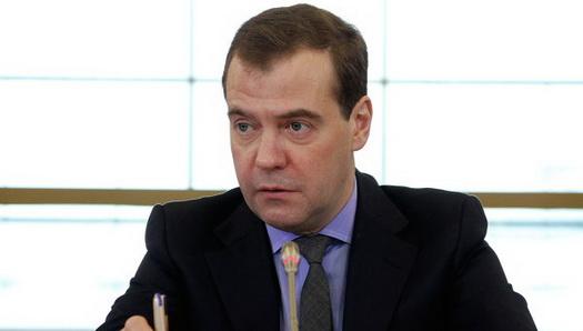 Глава правительства Дмитрий Медведев