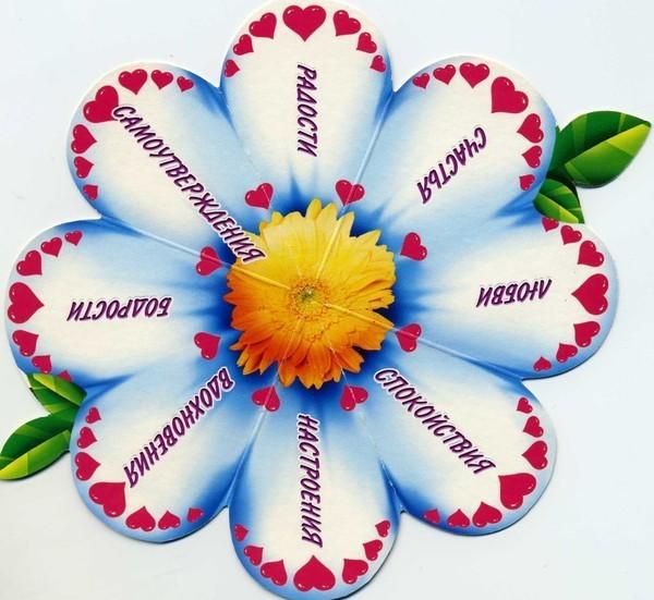 Пожелания желаю цветов