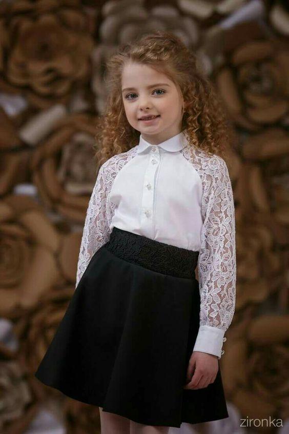 Как выбрать красивую школьную юбку для девочки