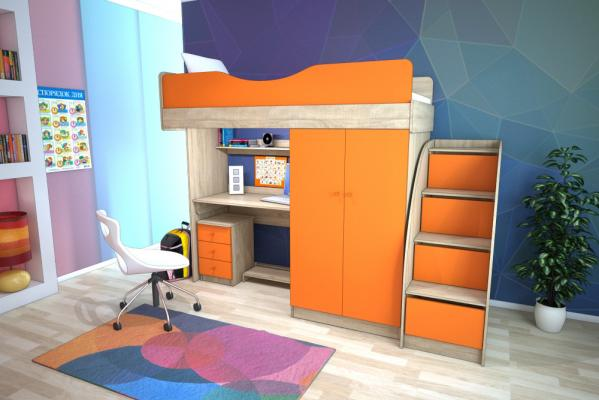 Модная детская мебель в СПб