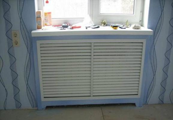 Разновидности радиаторов отопления. Экраны на батареи отопления