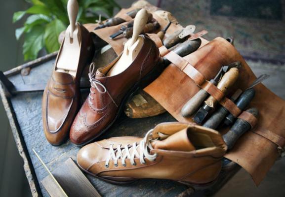 Стильная обувь из кожи - туфли и прочее
