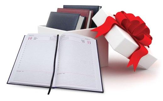 Сувенирная продукция: ежедневники в подарок