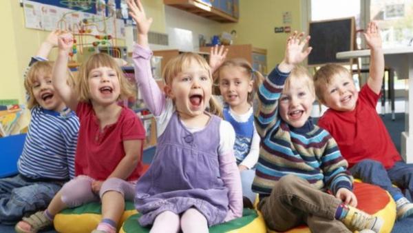 Детское воспитание в детсаде