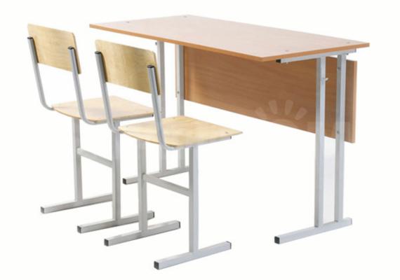 Школьная мебель: стулья, столы и парты