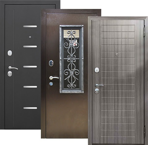 Металлические двери от производителя Лава в СПб