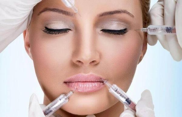 Косметологические процедуры. Контурная пластика