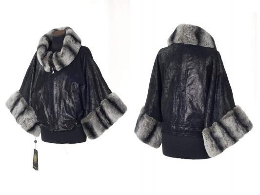 Я блистала в холода в прекрасной куртке из меха