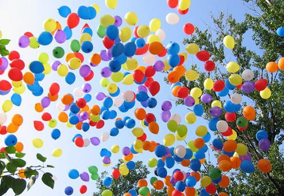 Воздушные гелиевые шары в Краснодаре