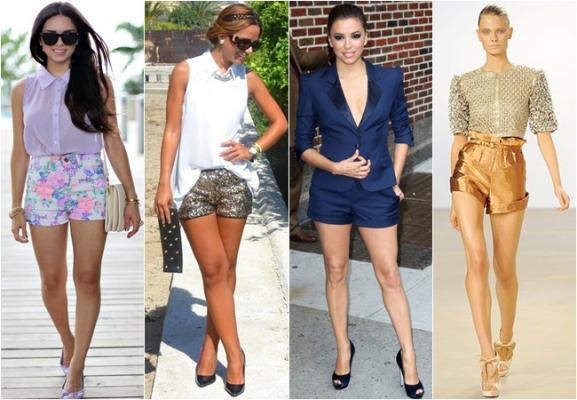 Какие модные сегодня женские шорты?