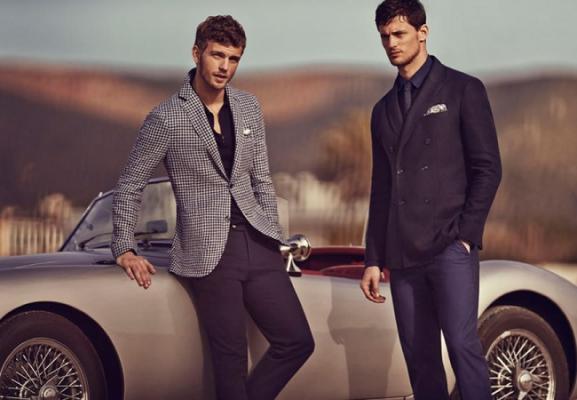 Мужская классическая одежда для респектабельных людей